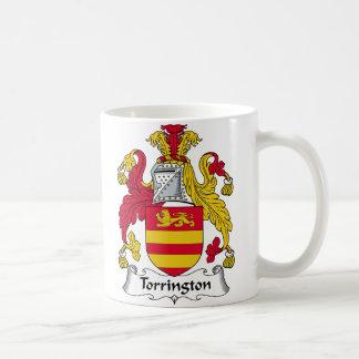 Torrington Family Crest Basic White Mug