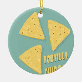Tortilla Chip Day - Appreciation Day Christmas Ornament