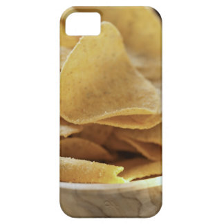 Tortilla chips in wooden bowl iPhone 5 cases