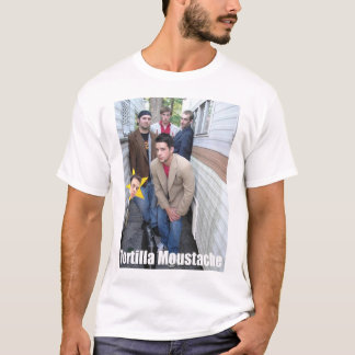 Tortilla Moustache-Group T-Shirt
