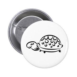 Tortoise 6 Cm Round Badge