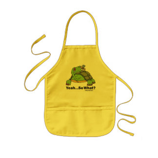 Tortoise and Bee Apron
