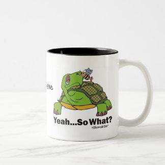 Tortoise and Bee. Mugs