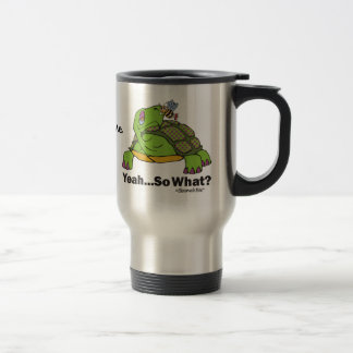 Tortoise and Bee. Stainless Steel Travel Mug