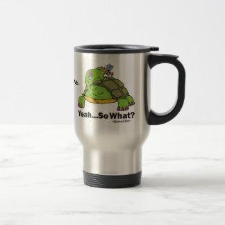 Tortoise and Bee. Travel Mug