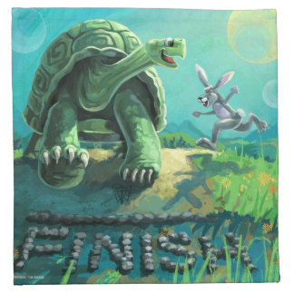Tortoise and the Hare Art Napkin