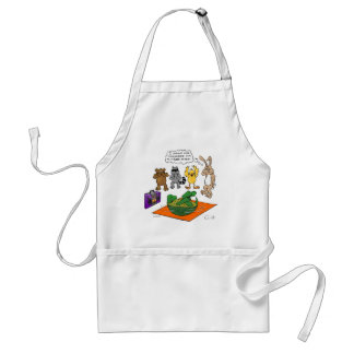 Tortoise and the Hare Revisted Adult Apron