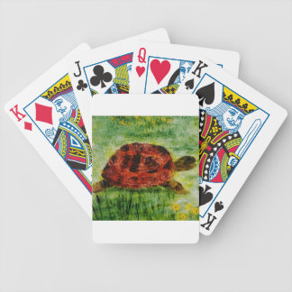 Tortoise Animal Art Bicycle Playing Cards