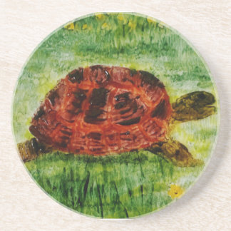 Tortoise Animal Art Coaster
