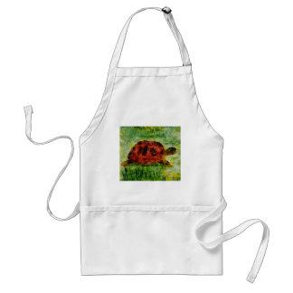 Tortoise Animal Art Standard Apron