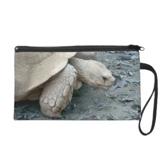 Tortoise Wristlet Clutch