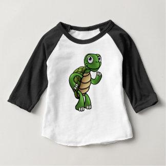 Tortoise Cartoon Character Baby T-Shirt