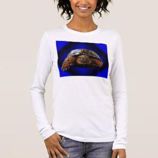 Tortoise Design Tshirt, with eye catching design Long Sleeve T-Shirt