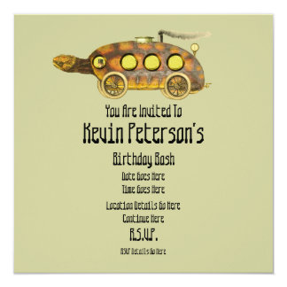 Tortoise Express Fun Invites