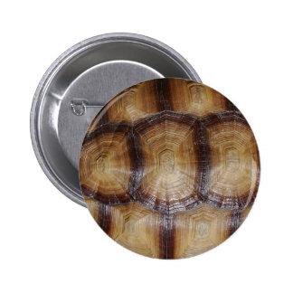 Tortoise Shell Close Up 6 Cm Round Badge