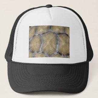 Tortoise shell trucker hat
