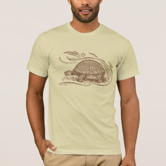 Tortoise Tee In Brown