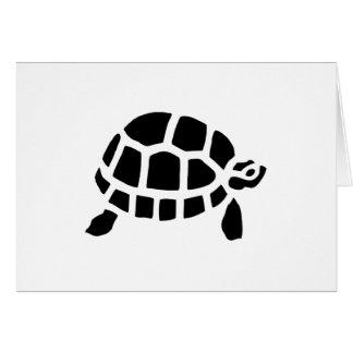 Tortoise Turtle Greeting Card