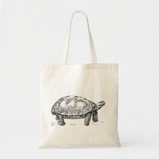 Tortoise turtle tote bag