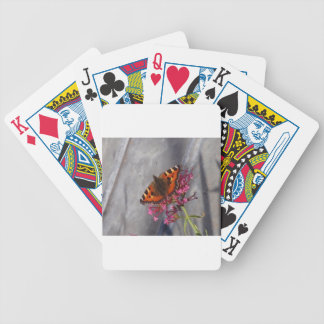 Tortoiseshell Butterfly Bicycle Playing Cards