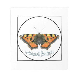 Tortoiseshell Butterfly Watercolour Painting Notepad