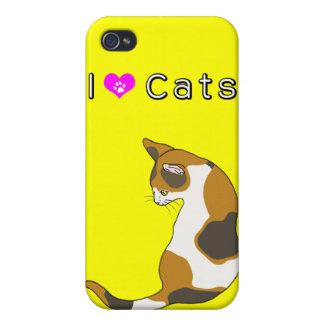 tortoiseshell cat iPhone 4 cover