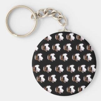Tortoiseshell Guinea Pig Pattern, Key Ring