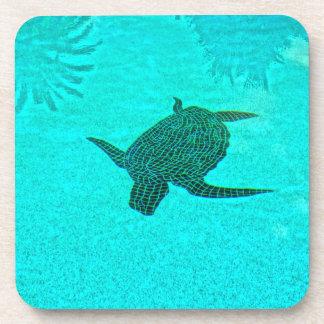 Tortuga Turtle Mosaic on Sanibel Island Florida Coaster