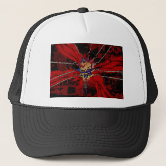 tortured head trucker hat