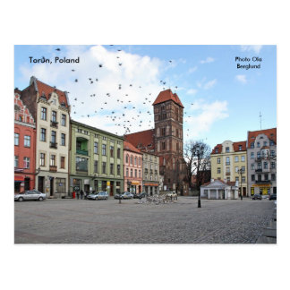 Torun, Poland, Photo Ola Berglund Postcard