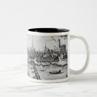 Torun, Poland Two-Tone Coffee Mug