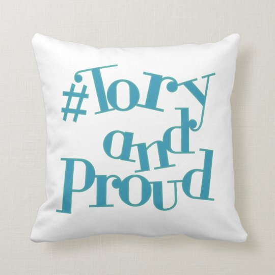 Tory and Proud Cushion