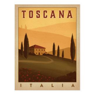 Toscana, Italia Postcard