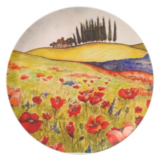 Toscany – Melamine Plate