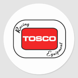 TOSCO Racing Equipment Classic Round Sticker