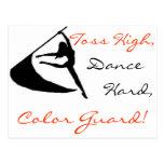 Toss High, Dance Hard, Colour Guard