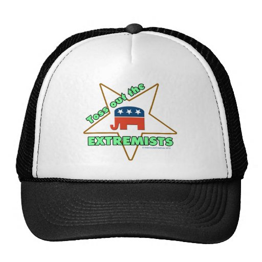 Toss Out the Republican EXTREMISTS! Mesh Hats