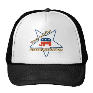 Toss Out the Republican OBSTRUCTIONISTS Hats