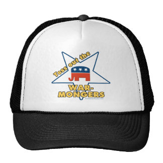 Toss Out the Republican WARMONGERS Trucker Hats