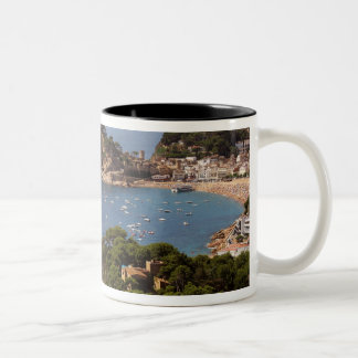 TOSSA DE MAR. Town located in the Costa Brava. Two-Tone Coffee Mug