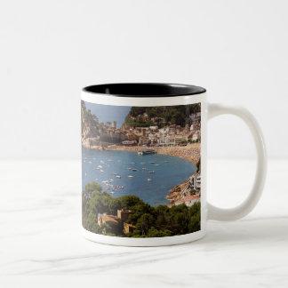 TOSSA DE MAR. Town located in the Costa Brava. Two-Tone Mug