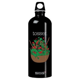 tosser. (salad)  <white text> SIGG traveller 1.0L water bottle