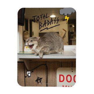 Total Badass Cat Magnet
