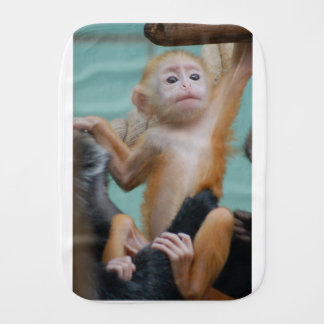 total cheeky moneky burp cloth