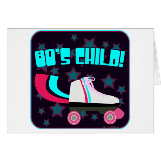 Total Eighties Child Greeting Card