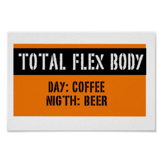 TOTAL FLEX BODY POSTER