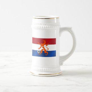 Total football soccer Oranje Dutch lion Mug
