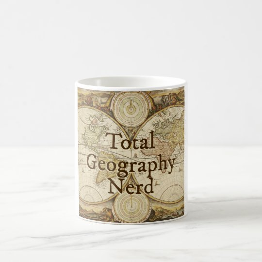 Total Geography Nerd mug