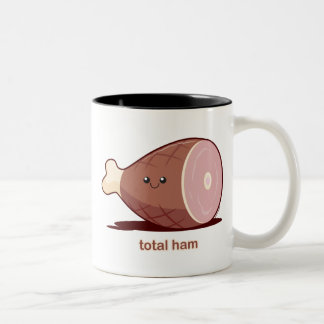 Total Ham Two-Tone Coffee Mug