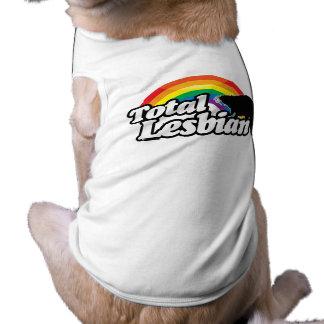 TOTAL LESBIAN BEAVER -.png Sleeveless Dog Shirt